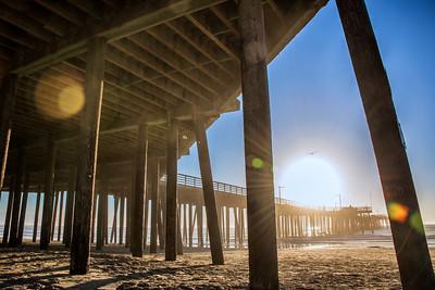 Sunset at Pismo Beach Pier