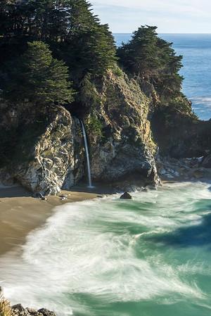 McWay Waterfall trail, Big Sur