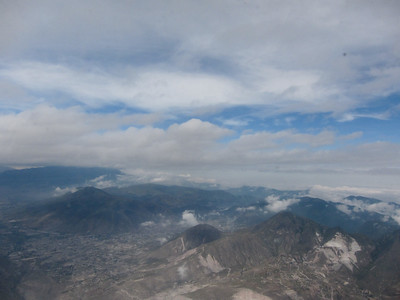 Quito from the air