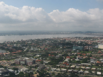 Guayaquil from the air