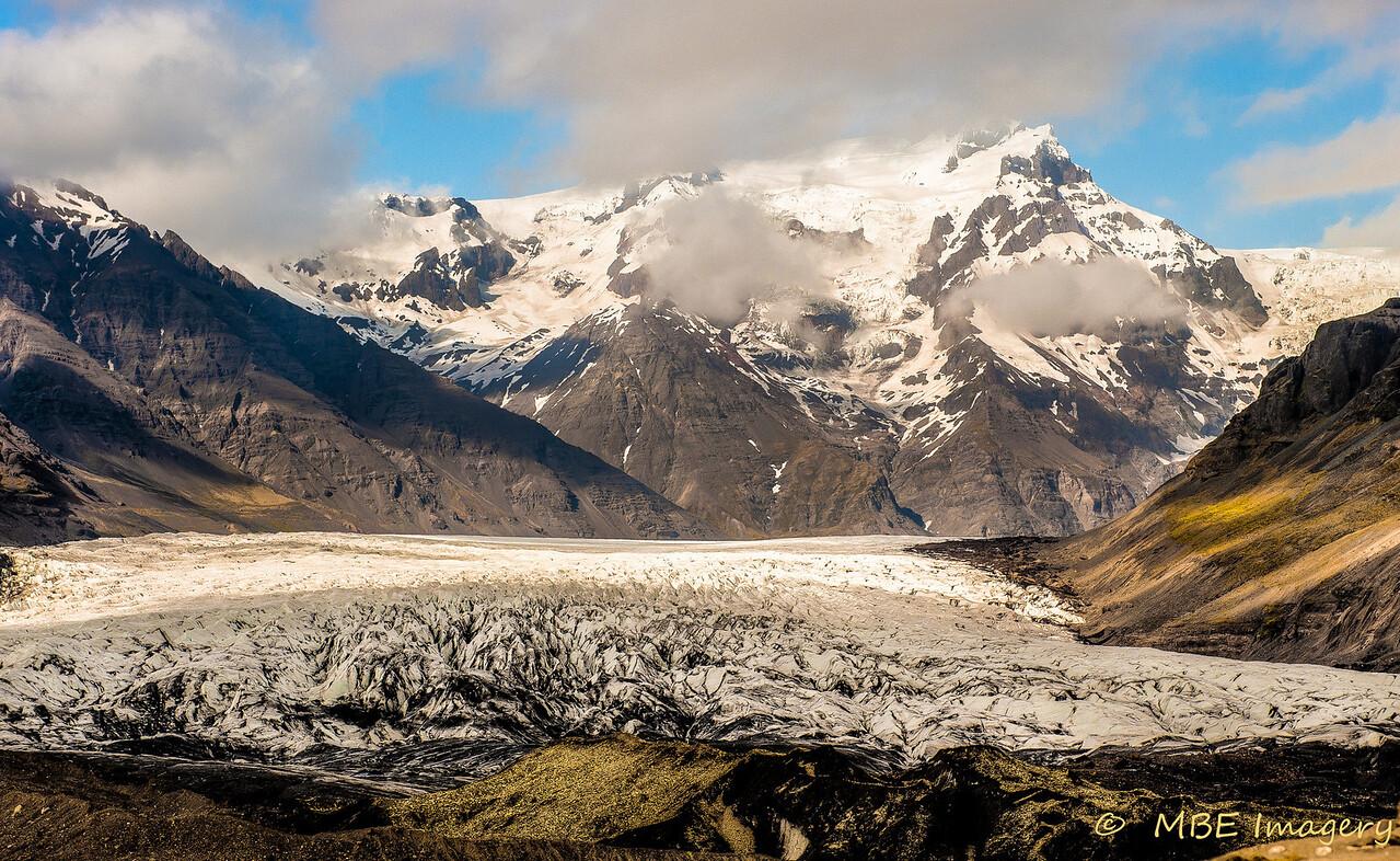 Glacier at Fosshotel Skaftafell
