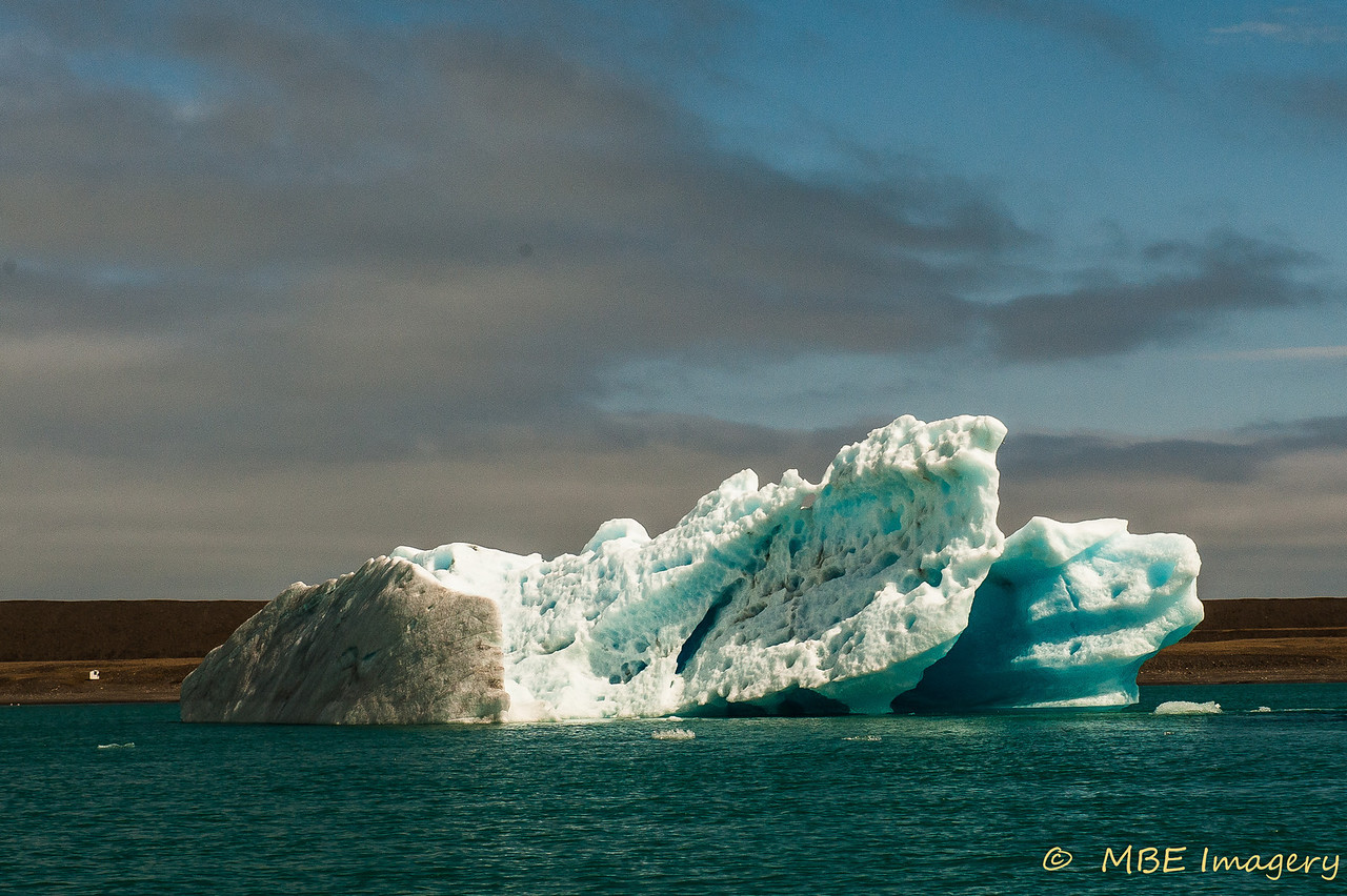 Iceberg in Glacier Lagoon