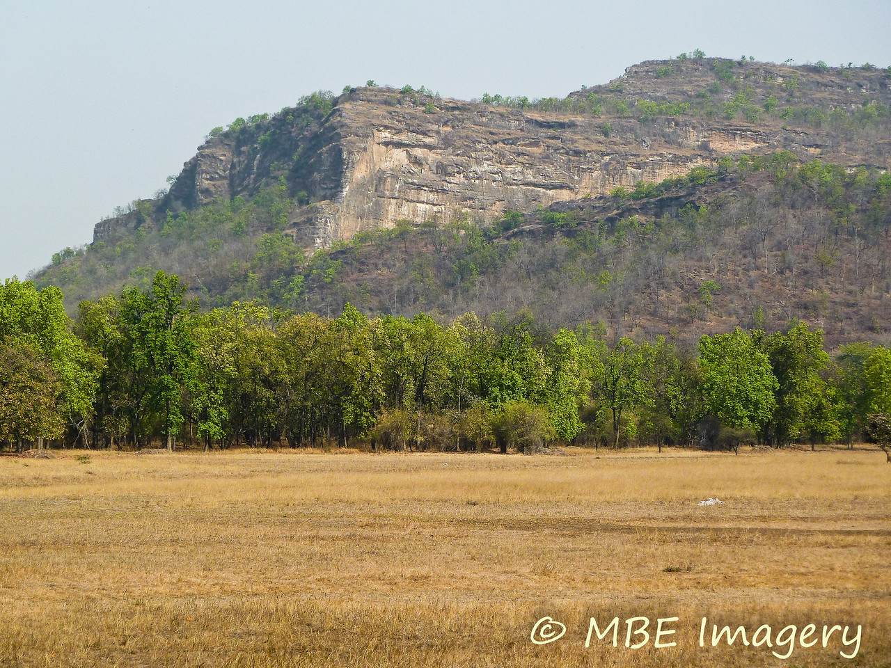 Rock outcropping at Bandhavgarh National Park