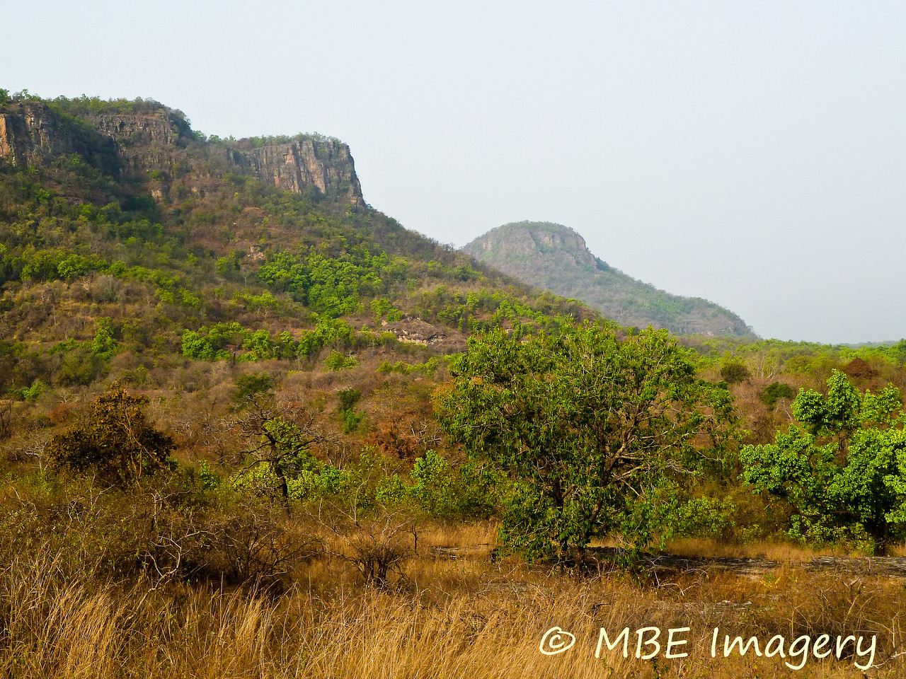 Rugges scenery at Bandhavgarh National Park