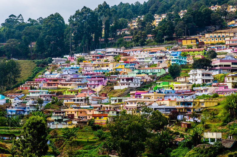 Town in the Western Ghats