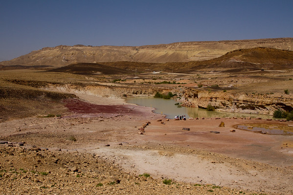 The Negev Desert, Masada and the Dead Sea