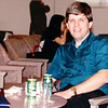 Sleepy Randal in Yamato Lounge at Narita, Japan Airport  7-22-94