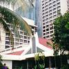 P. J. Hilton Hotel Entrance - Kuala Lumpar, Malaysia  7-23-94