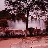 Park Scene Fountain - Mexico City - 5/8-12/83