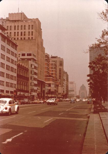 Avenida Juarez - Mexico City - May 1979