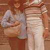 Donna (6 Months Pregnant) and Randy - Mexico City - May 1979