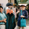 Donna With Iguana on Shoulder - Tijuana, Mexico  4-2-96