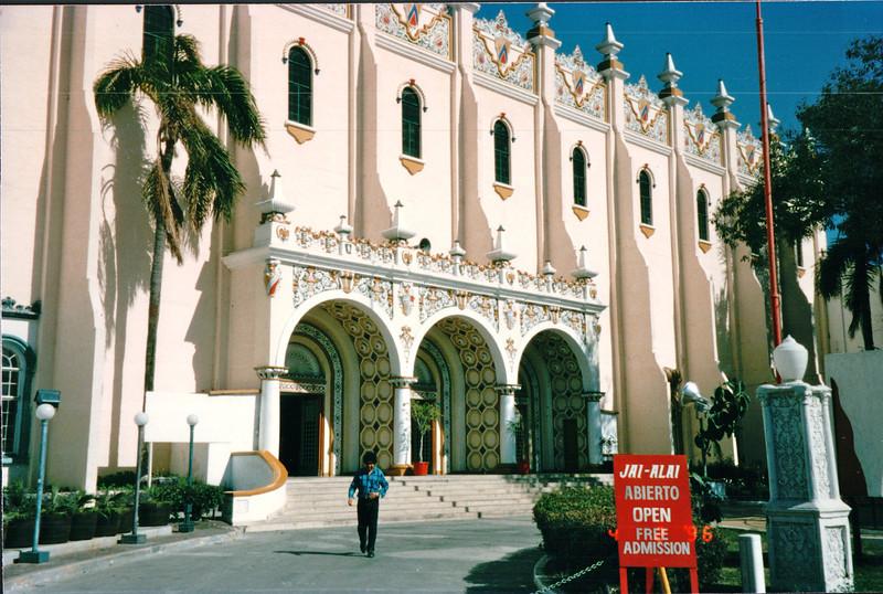 Jai Alai Palace - Tijuana, Mexico  4-2-96