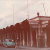 """El Pariam Mercado - Puebla, Mexico - May 1979<br /> Mercado """"El Parian"""" is the ancient town square of San Roque, which was built in 1801. Most of it is covered which brick and talavera ceramic tiles in the typical Puebla style. Nowadays it is a craft market where shoppers can find talavera ceramics, onyx, typical candies, miniatures, embroidered goods, glass, clay objects, textiles, straw crafts, etc. It accommodates more than 100 stalls."""