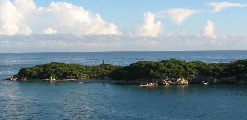 View From Balcony Anchored Off The Coast of Labadee, Haiti_2