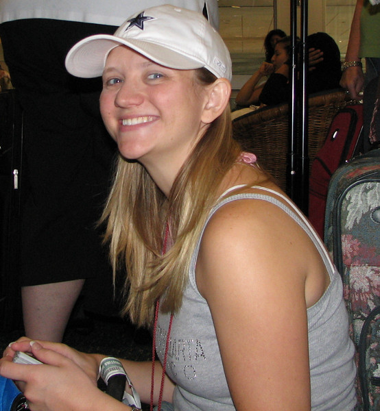 DAY ONE - Christina Bethke - Orlando Airport