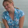 Christina Bethke on Balcony
