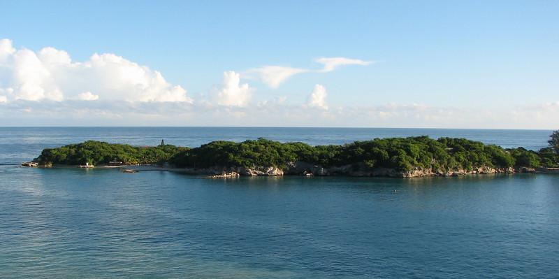 DAY THREE - View From Balcony Anchored Off The Coast of Labadee, Haiti