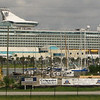 First View of Royal Caribbean Mariner of the Seas - Port Canaveral - 14 Floors