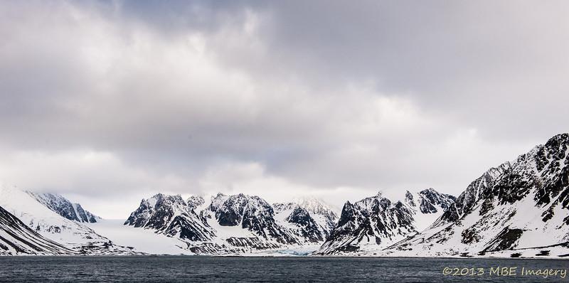 Glaciers in Svalbard