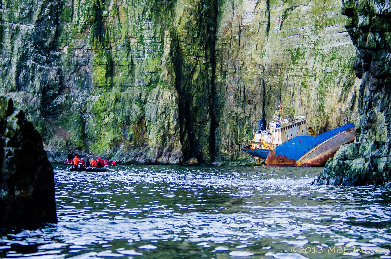 Russian Shipwreck