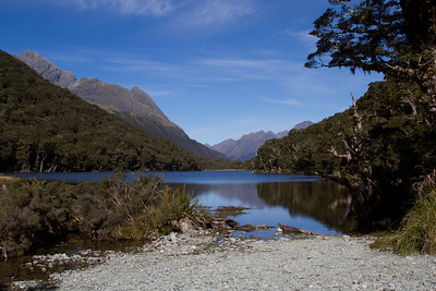Lake Howden (lunch stop, Day 1)