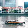 Singapore River - Singapore - March 2002