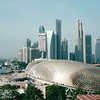 Scenes From Hotel Balcony - Singapore Convention Center - Singapore - March 2002