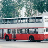 Double-decker Bus We Took to Bird Park - Singapore - March 2002<br /> Air-conditioned first level costs more.