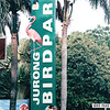 Randal at Jurong Bird Park Entrance Sign - Singapore - March 2002