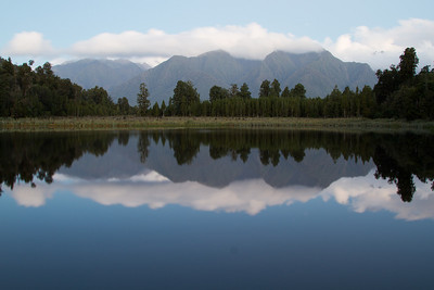 Lake Matheson near Fox Glacier