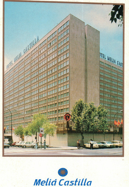 The Hotel - TAC Trip to Madrid, Spain - May 3-9, 1990