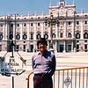 Randal at Royal Palace - TAC Trip to Madrid, Spain - May 3-9, 1990