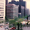 Looking Out Towards Front of Hotel - TAC Trip to Madrid, Spain - May 3-9, 1990