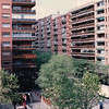 View From Hotel Room - TAC Trip to Madrid, Spain - May 3-9, 1990