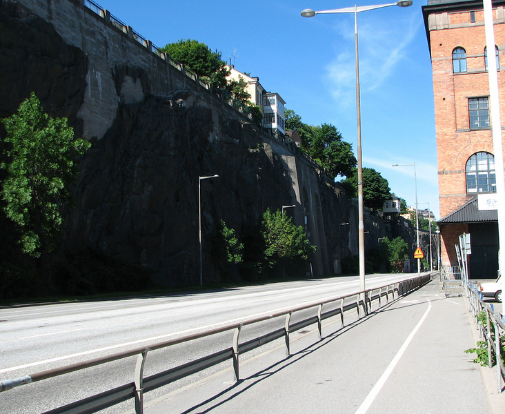 Heading Into Town From Port - Stockhold, Sweden