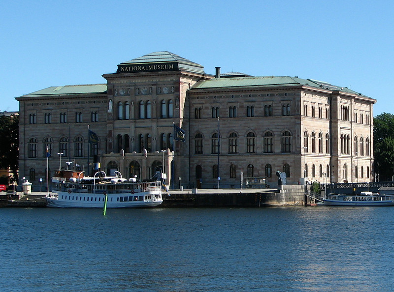 Closer Look at National Museum - Stockholm, Sweden