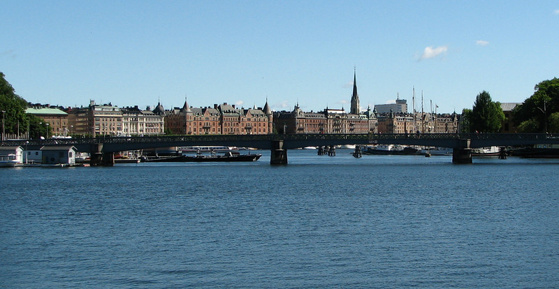 View to Right of National Museum of Ostermlm Area - Stockholm, Sweden