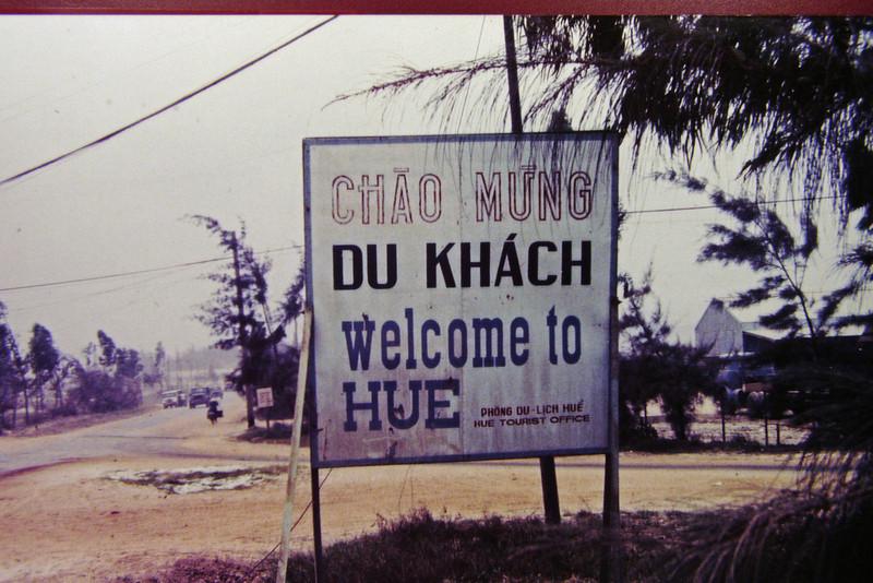 Welcome to Hue City, Vietnam 1968