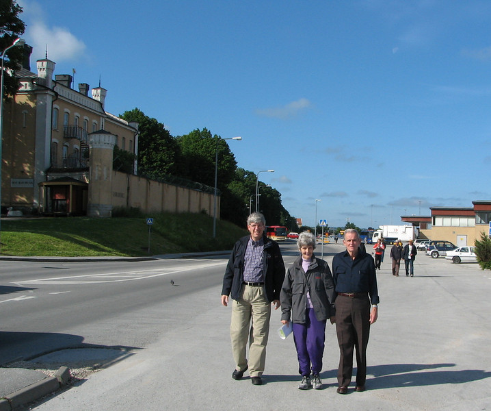 Visby, Sweden - Walking to Old Town with Charlie and Louise