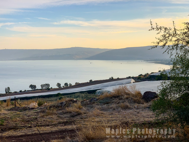 View of Sea of Galilee