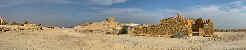 Byzantine church & Western Palace Ruins