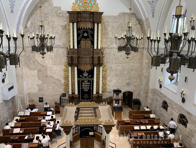 Ark Inside the Hurva Synogogue