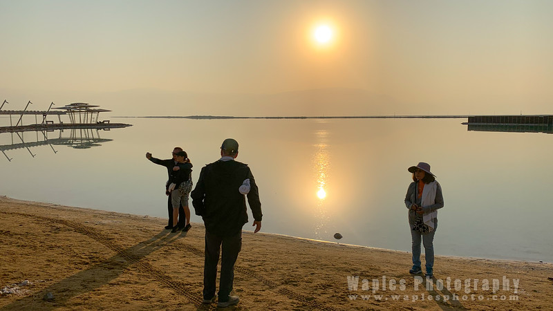 Morning at the Dead Sea