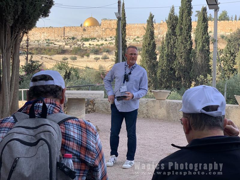 Sermon in the Garden of Gethsemane