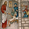Mosaic of Jesus Healing the Sick