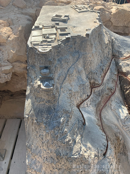 Masada Plan View