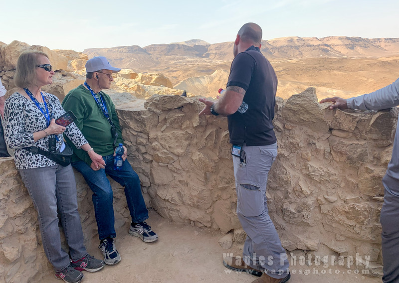 Everett and Sue at Masada