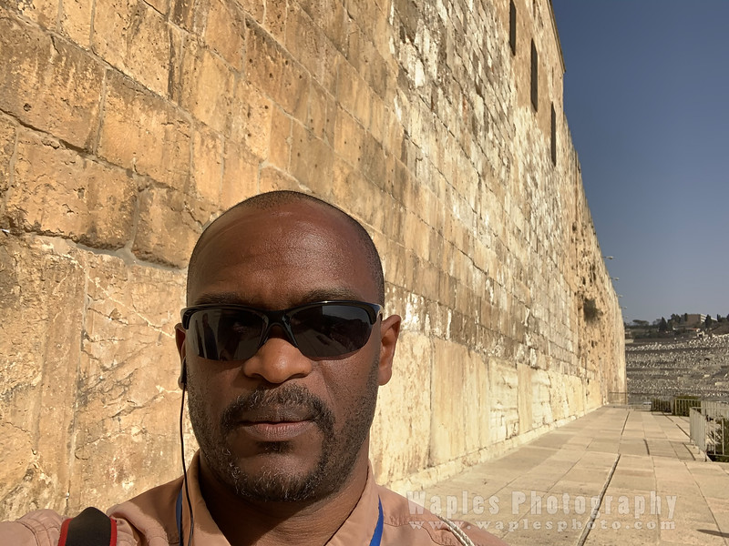 Stephen at the southern wall of the Temple Mount