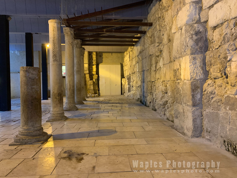 Main Street of Jerusalem in the 6th Century AD